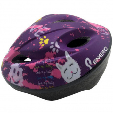 Adjustable bicycle helmet Love Kitty 51-53 cm Enero Jr 1011066