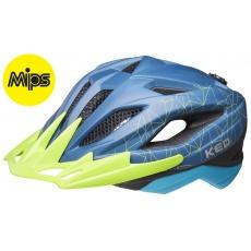 prilba KED Street Junior MIPS M blue green 53-58 cm