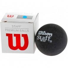 Staff Ball BL DOT squash ball blue dot