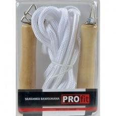 Cotton skipping rope PROFIT JUMP DK 1013