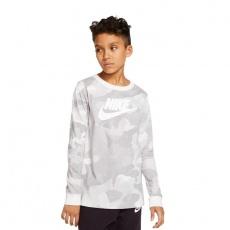 Nike JR NSW Camo Long Sleeve Shirt Jr CK5765-094