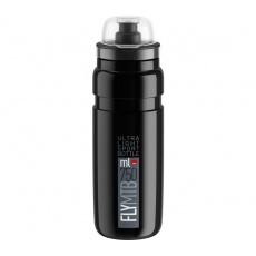 fľaša ELITE FLY MTB 20 čierna / sivé logo 750 ml