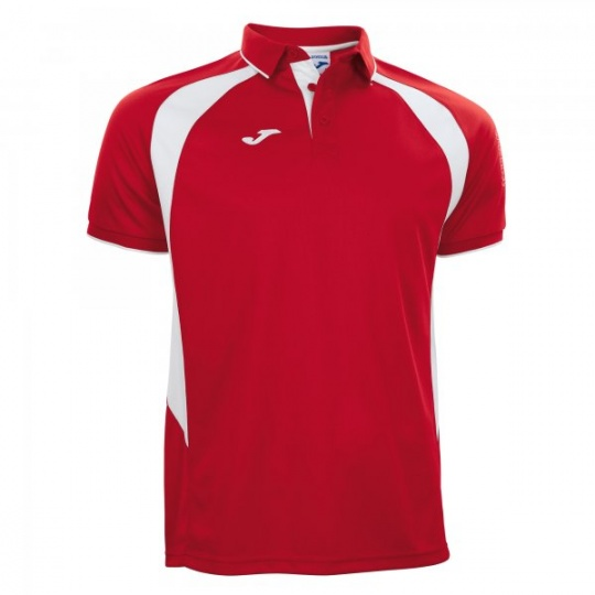 POLO CHAMPION III RED-WHITE S/S