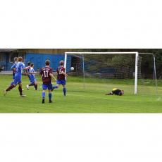 A football goal type 3
