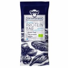 tyčinka Chimpanzee Organic Protein Bar vanilka+datle